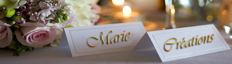 Logo Marie Créations